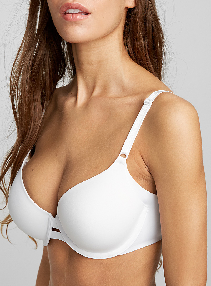 All covered full coverage bra - T-Shirt - White