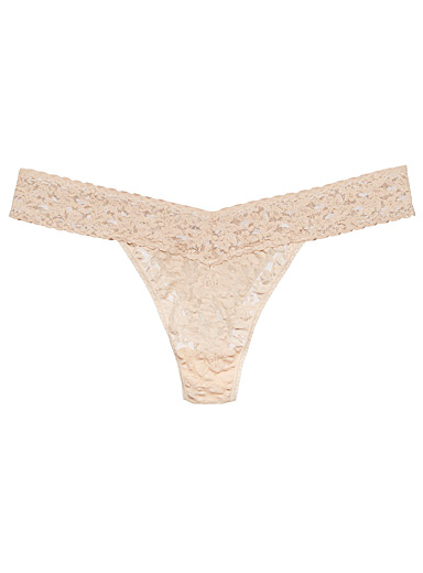 Original rise all-lace thong Plus size (fits 14 to 24)
