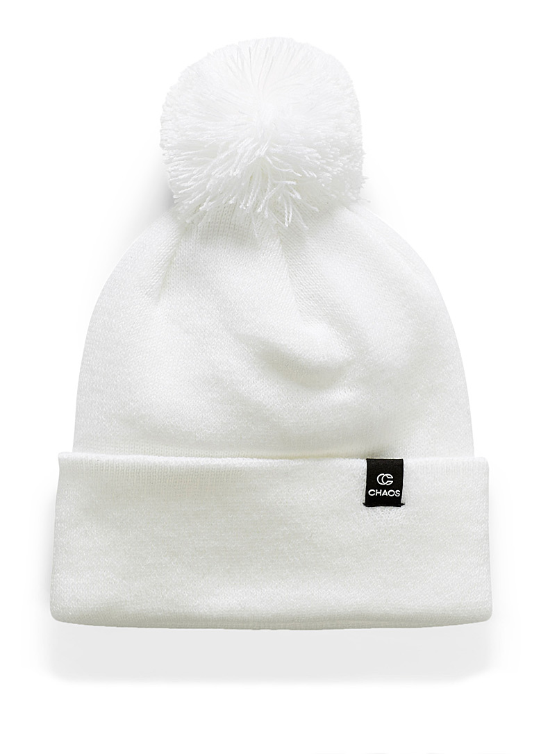 Deiter pompom beanie - Tuques & other - White