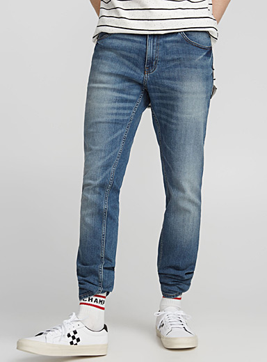 Faded indigo Tight jean  Skinny fit