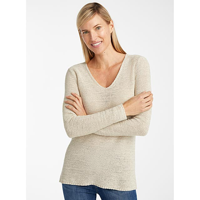 le-pull-col-v-maille-ruban