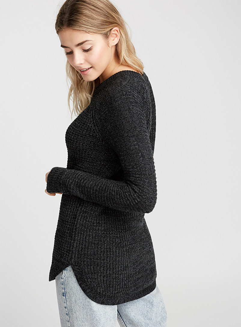 Le pull tricot gaufré - Pulls - Oxford