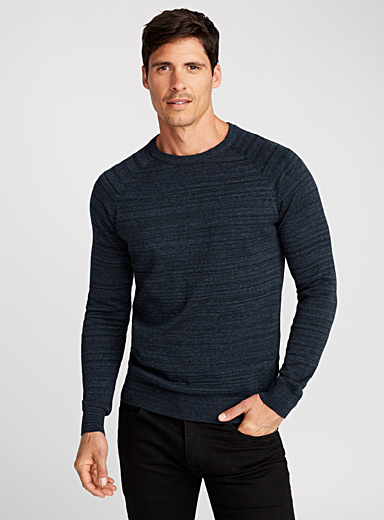 Essential raglan heather sweater