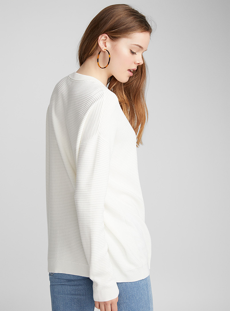Le pull ottoman - Pulls - Ivoire blanc os