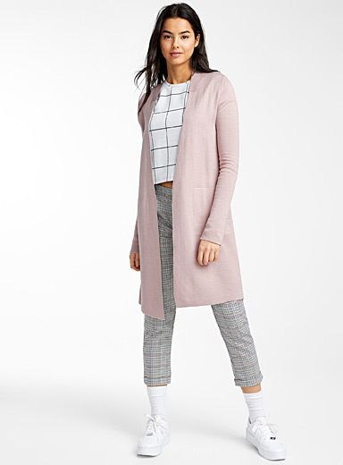 Twik Light pink  Double-faced cardigan for women
