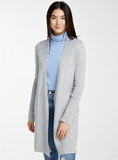 Double-faced cardigan