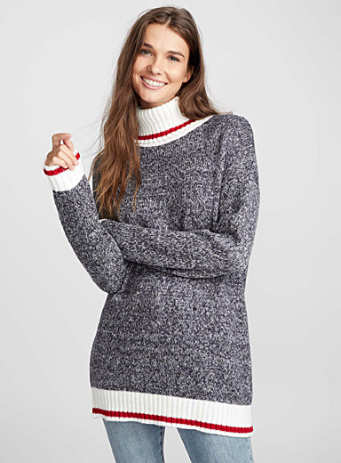 Wool sock tunic