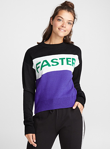 Le pull Faster