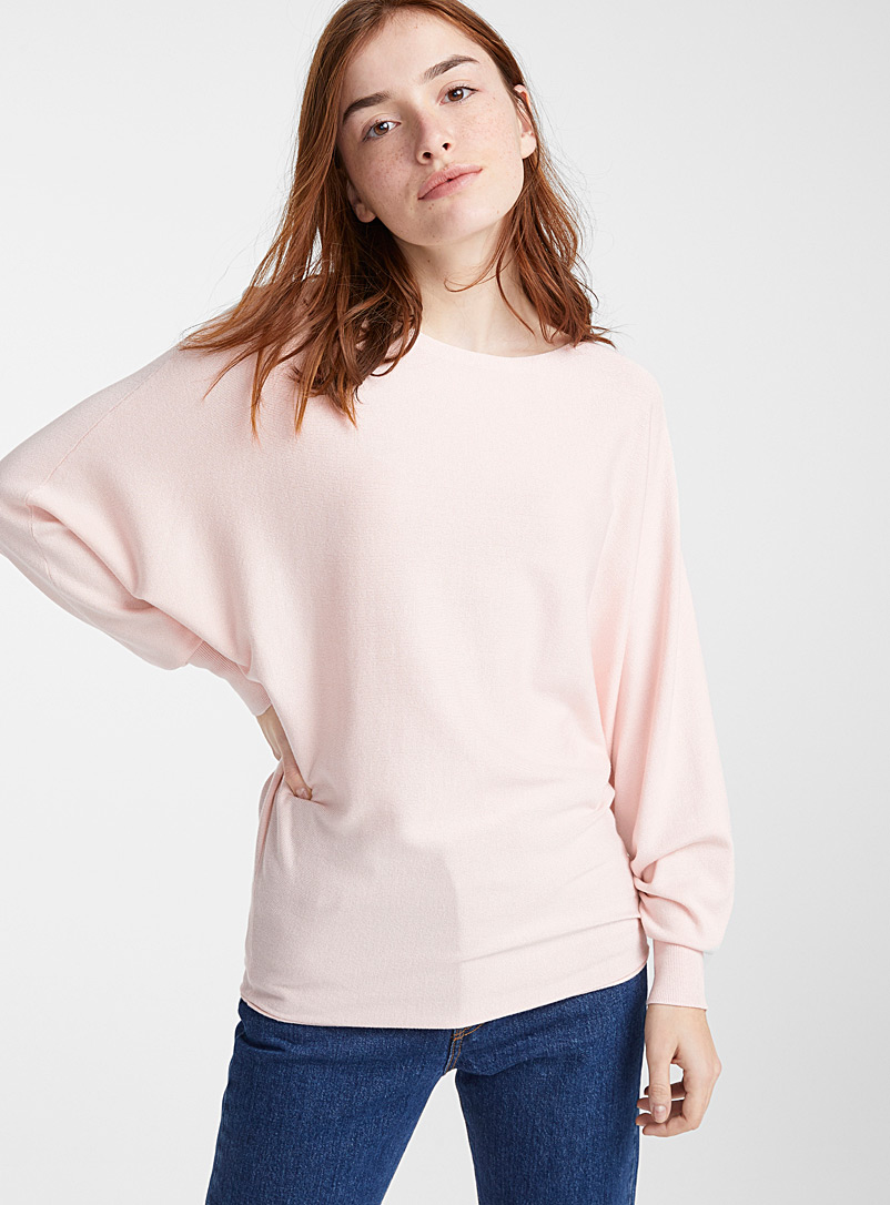 batwing-sleeve-boat-neck-sweater