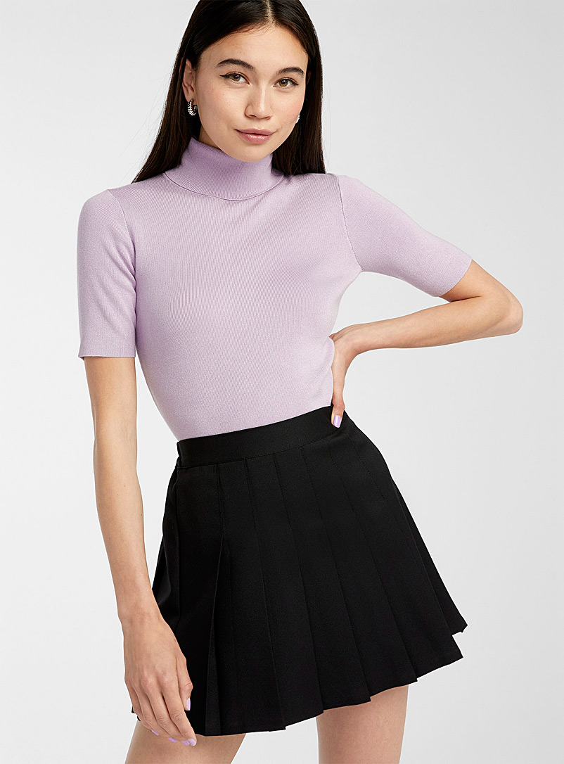 Twik Lilacs Turtleneck with elbow-length sleeves for women