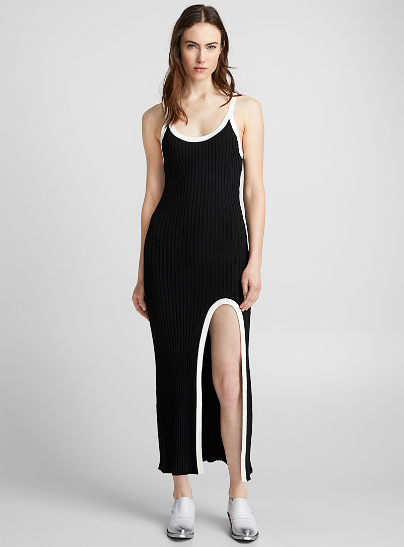 accent-touch-ribbed-dress