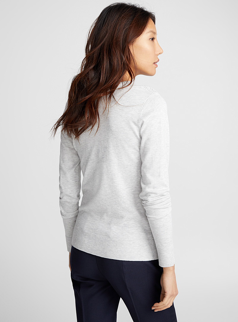Le pull insertion ottoman - Pulls - Argent