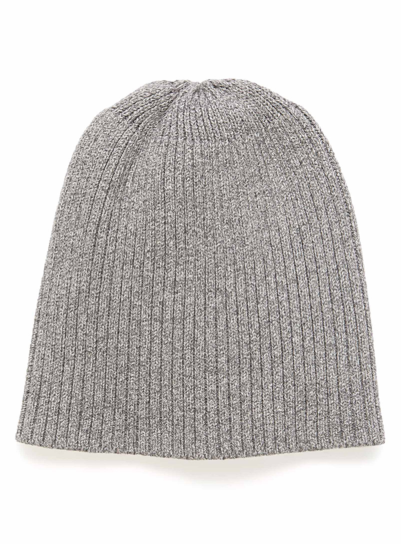 Ribbed tuque - Tuques - Light Grey