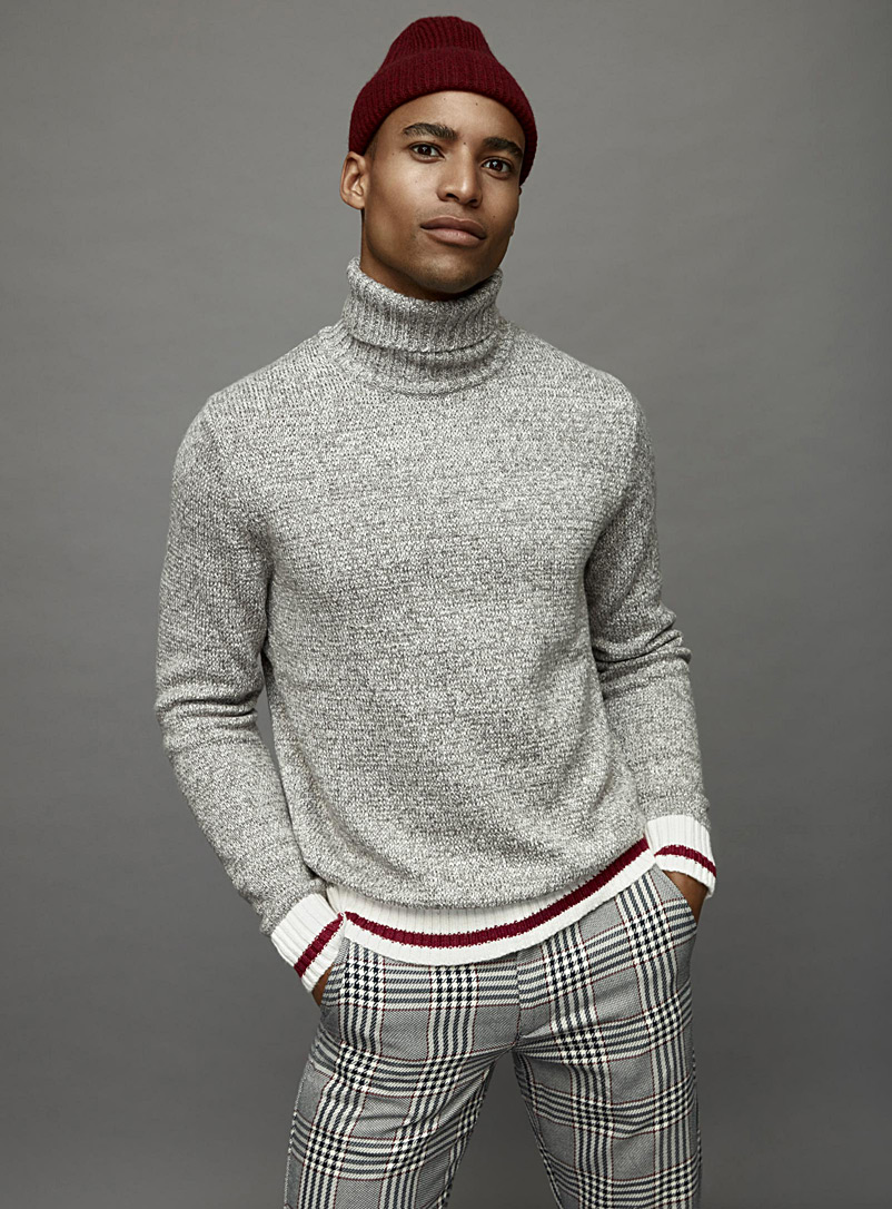 Wool sock turtleneck - Turtlenecks & Mock necks - Grey