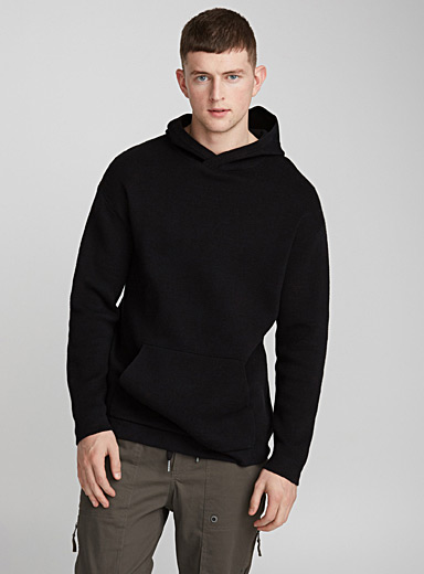 Minimalist hooded sweater
