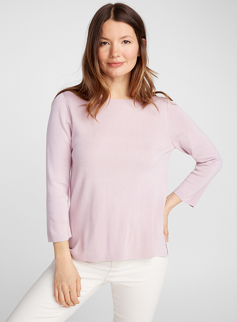 f85cfd611 Boat neck sweater