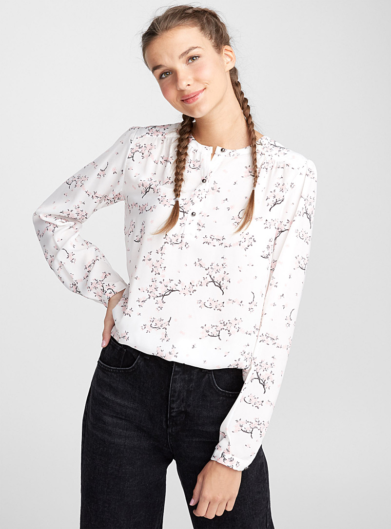 jewel-button-blouse