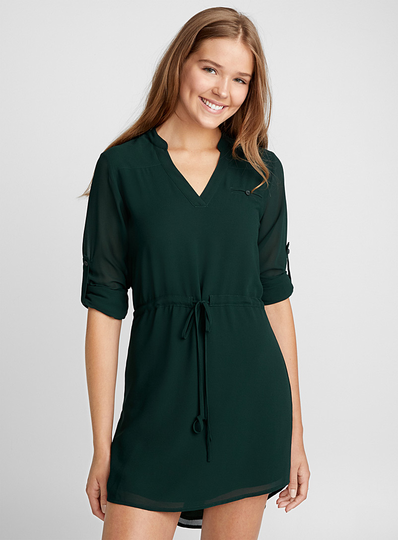 Voile shirtdress - Fit & Flare - Assorted