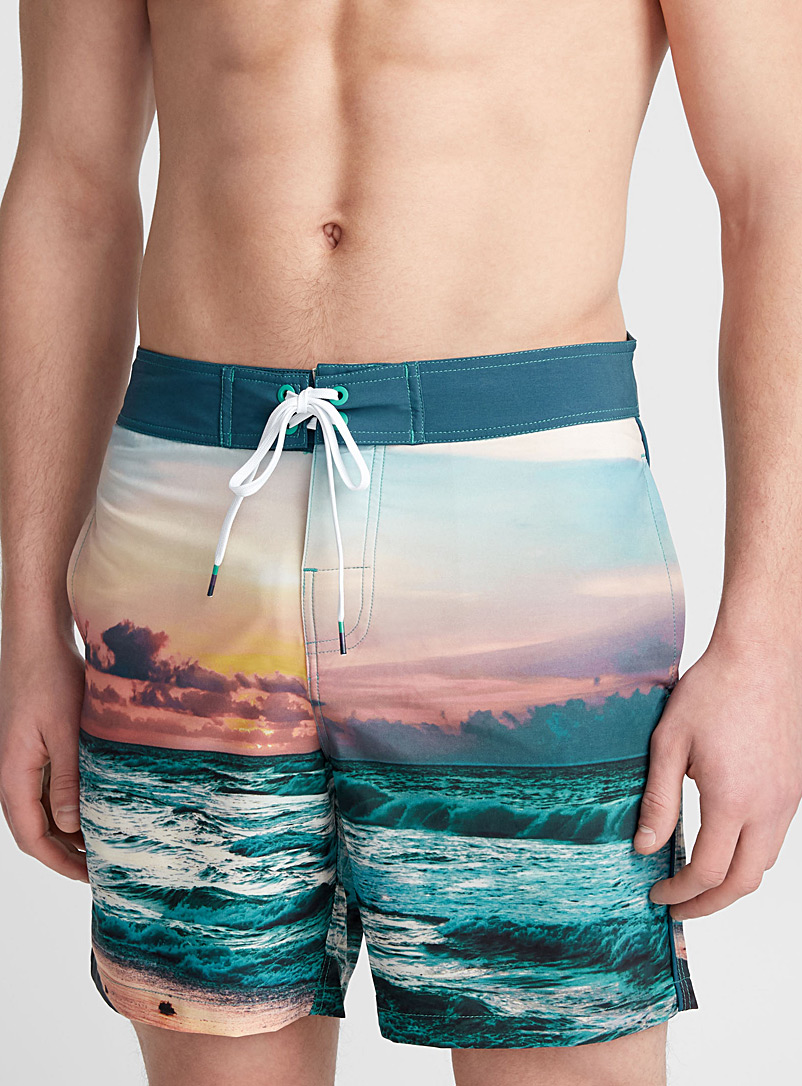 True nature swim trunk - Boardshorts - Peach