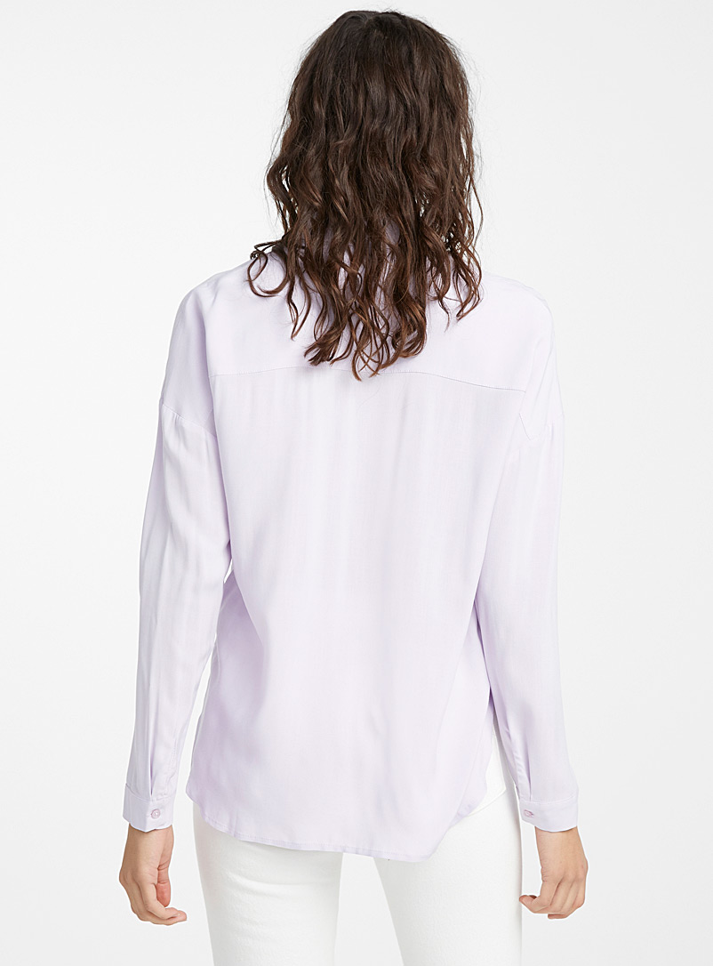Fluid loose shirt - Shirts - Lilacs