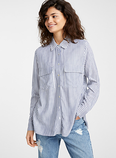 Pearly button shirt