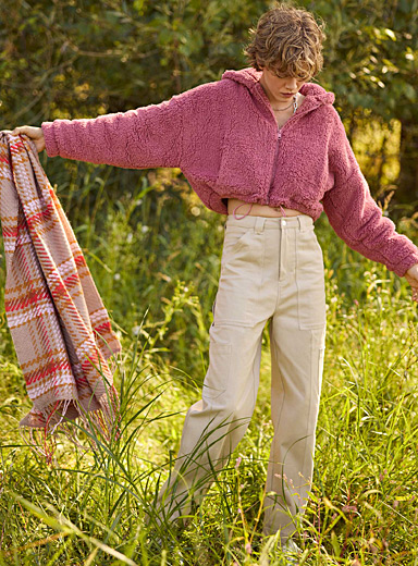 High-rise workwear pant