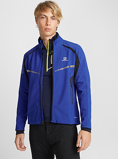 Warm SoftShell windbreaker  Active fit