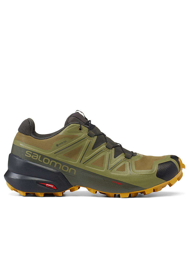 Salomon Mossy Green Olive Speedcross 5 GTX sneakers  Men for men