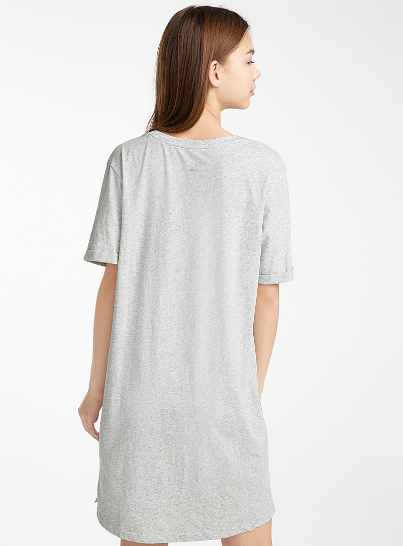 Simple pleasures nightgown - Nighties & Sleepshirts - Charcoal
