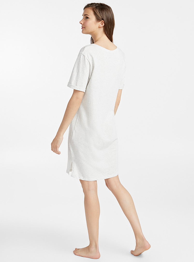 Simple pleasures nightgown - Nighties & Sleepshirts - Light Grey
