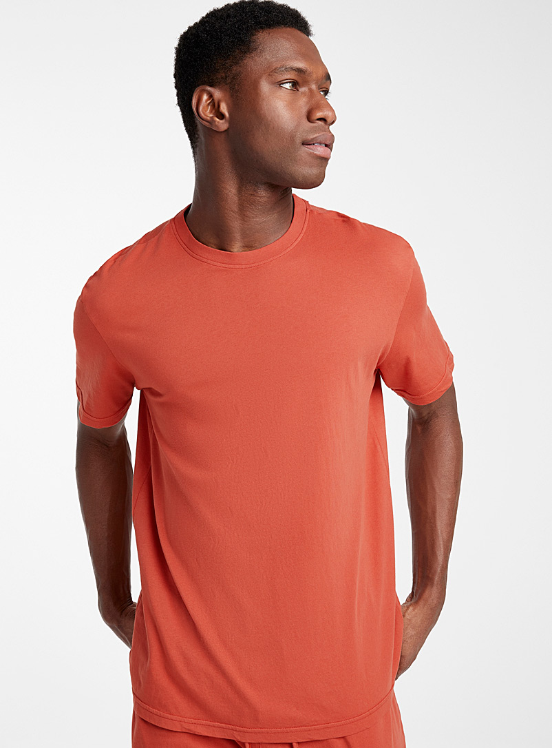 Basic organic cotton lounge T-shirt