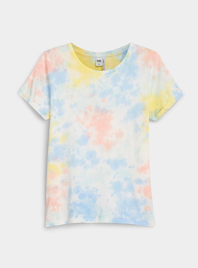 Twik Assorted Printed organic cotton tee for women