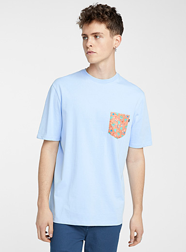 Organic cotton animated pocket T-shirt
