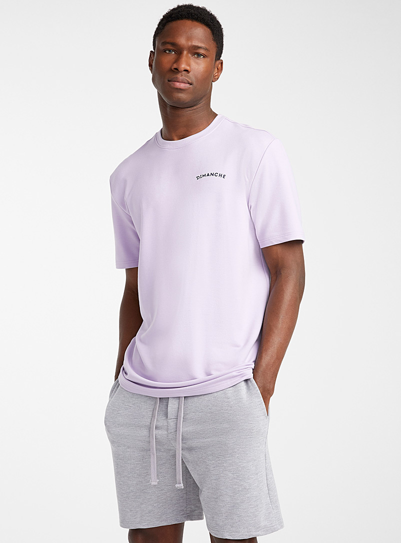 Le 31 Lilacs Dimanche lounge T-shirt for men
