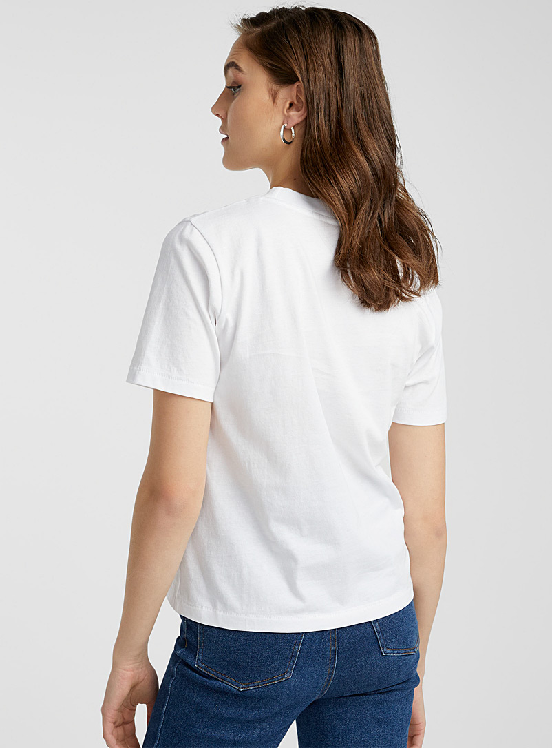 Icône Oxford Illustrated organic cotton T-shirt for women