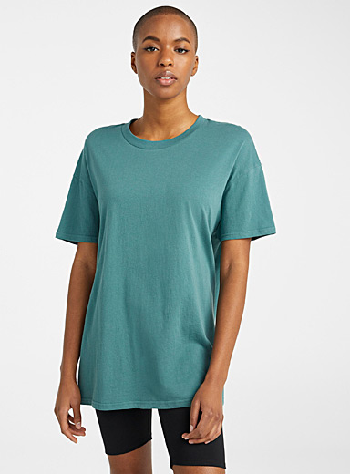 Loose organic cotton lounge tee