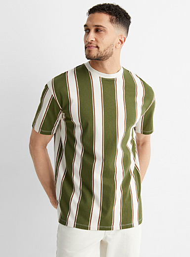 Vertical stripes T-shirt