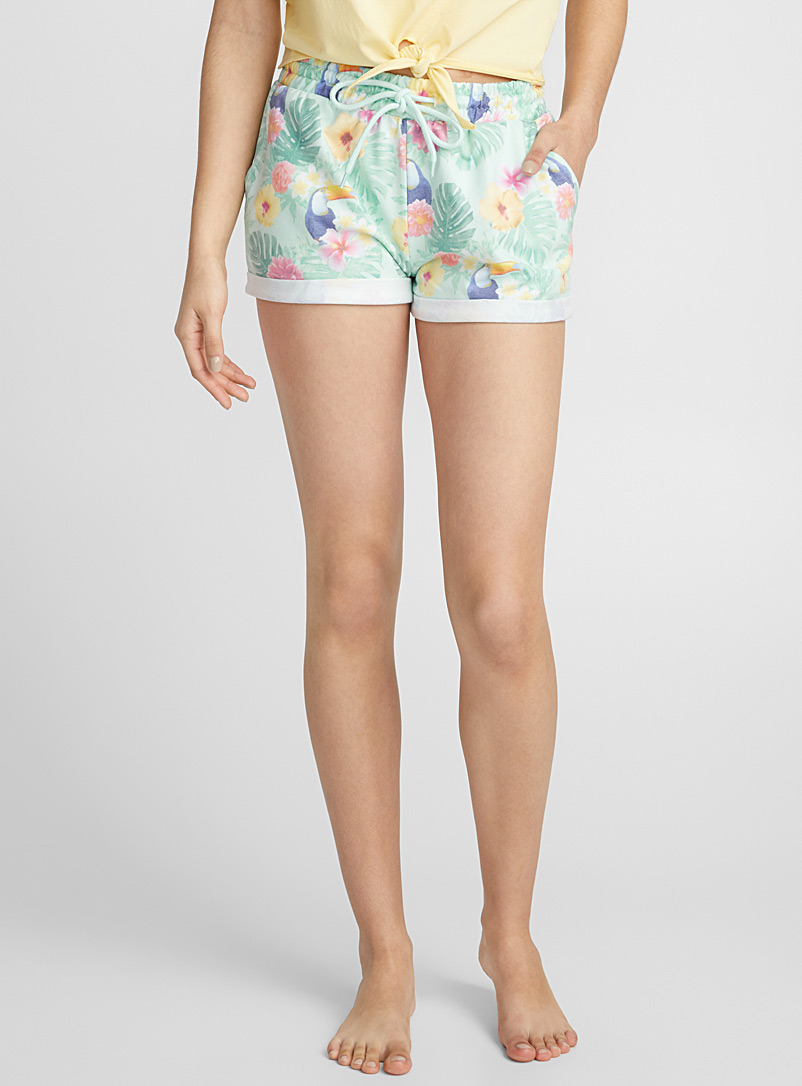 Summer print boxer - Boxers - Teal