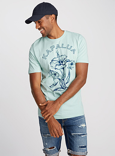 Le tee-shirt coton bio tropical