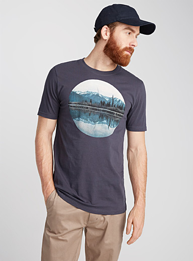 Nature-inspired organic cotton T-shirt