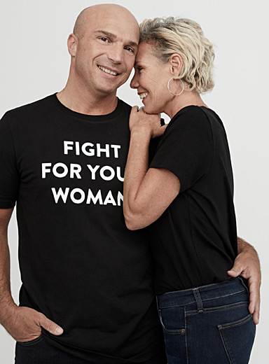 Fight For Your Woman organic cotton T-shirt