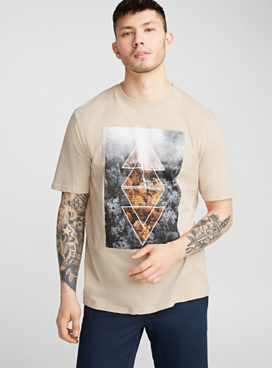 Organic cotton graphic T-shirt