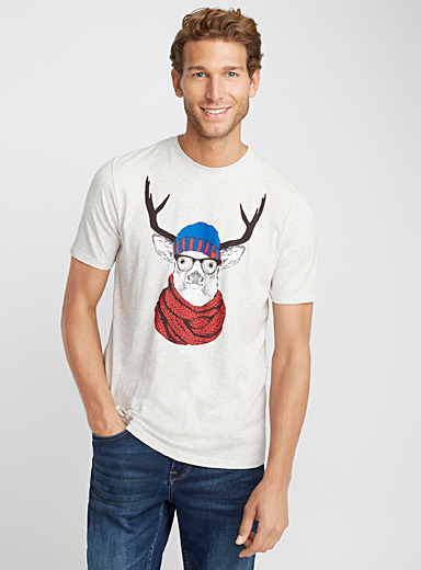 Festive organic cotton T-shirt