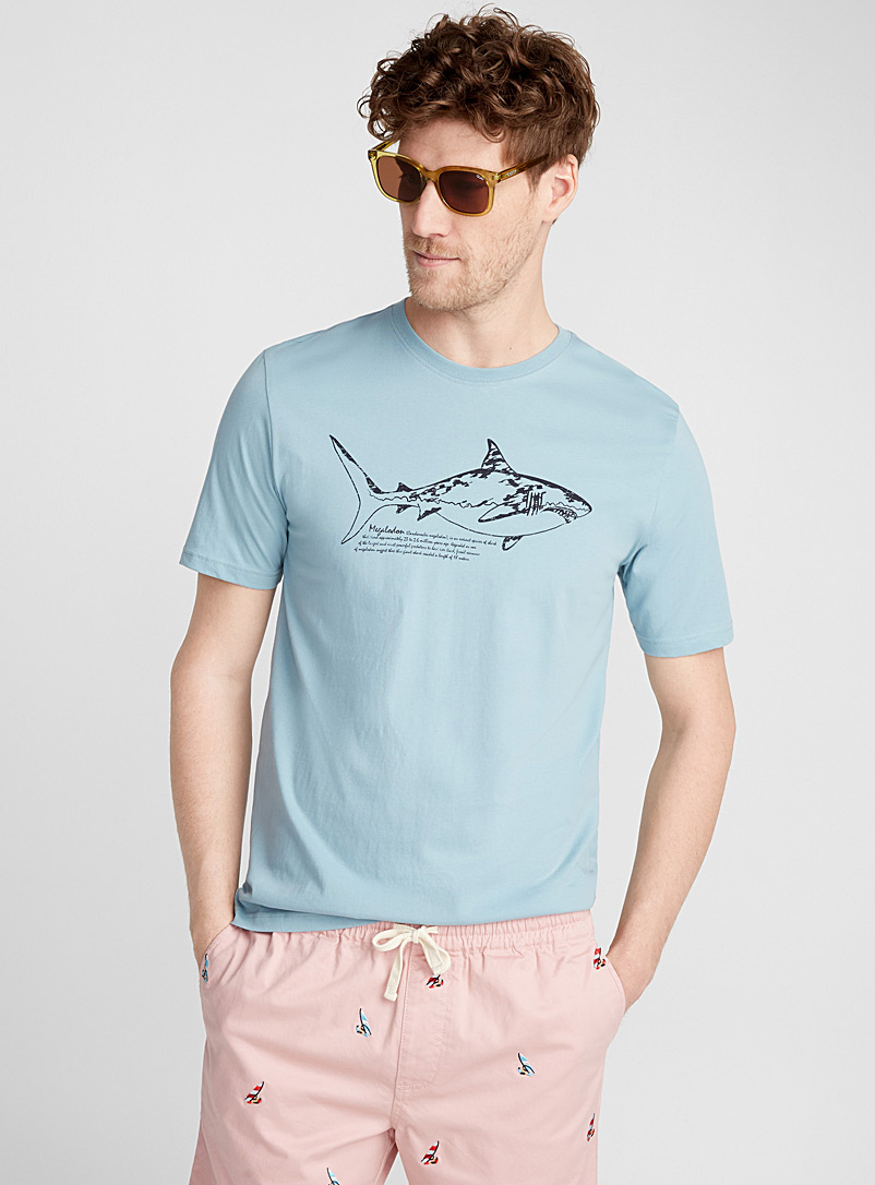 Fishing trip T-shirt - Prints - Baby Blue