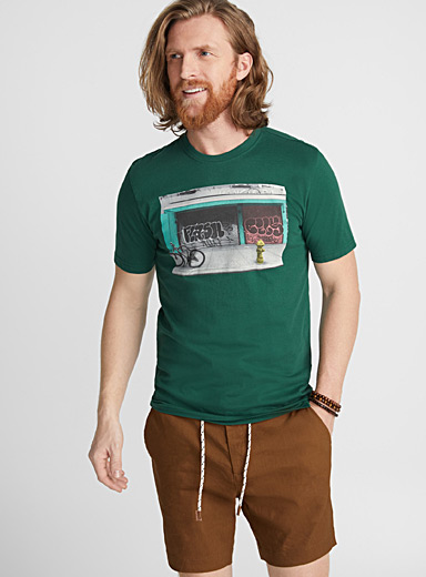 Photo album organic cotton T-shirt