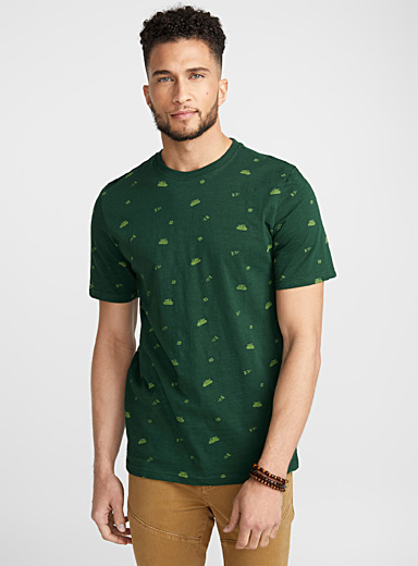 Playful pattern T-shirt