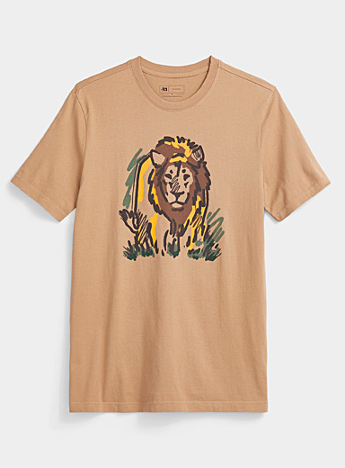 Organic cotton safari T-shirt