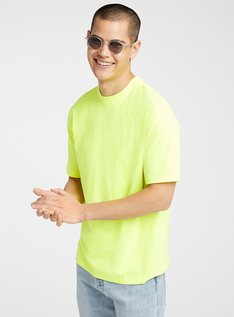 Neon T-shirt - Short sleeves & 3/4 sleeves - Golden Yellow