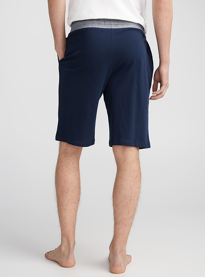 Jersey lounge Bermudas - Sleepwear & Leisurewear - Dark Blue