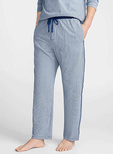 Mini stripe organic cotton lounge pant